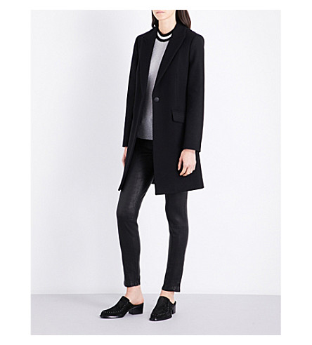 RAG & BONE Duchess wool-blend coat (Black