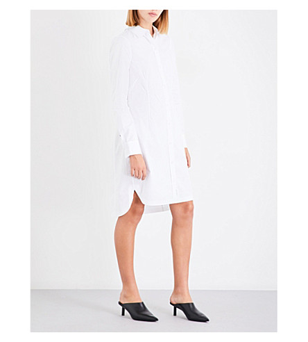 RAG & BONE Albion cotton-poplin shirt dress (White