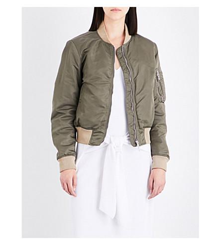 RAG & BONE Manston satin bomber jacket (Vertiver