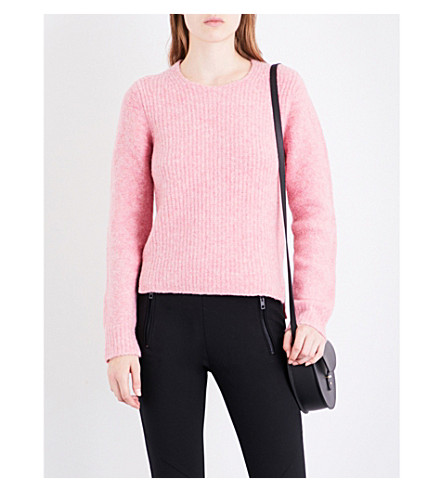 RAG & BONE Francie wool-blend jumper (Pink