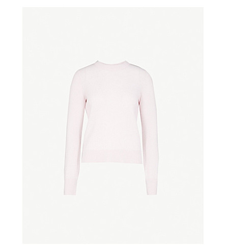 RAG & BONE Ace ribbed cashmere jumper (Pink