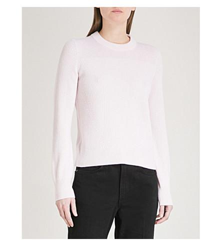 RAG & BONE Ace ribbed cashmere jumper (Pink