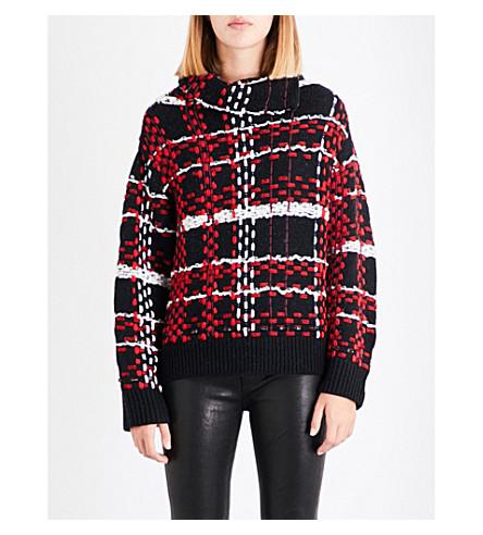 RAG & BONE Dawson wool-blend jumper (Red