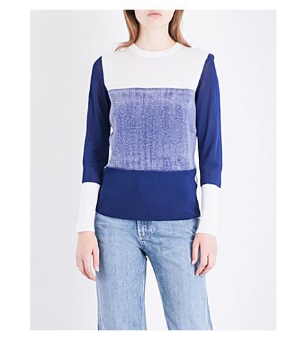 RAG & BONE Marissa knitted jumper (Blue