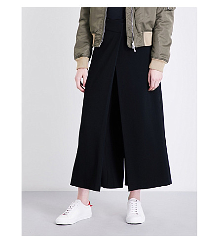 RAG & BONE Lomand crepe trousers (Black