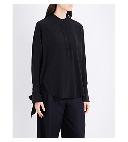 RAG & BONE Dylan silk shirt (Black