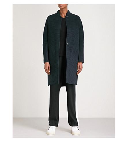 RAG & BONE Darwen reversible wool and cashmere blend coat (Salute/black