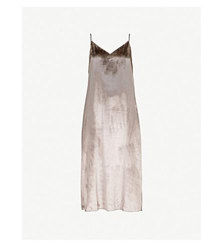 RAG & BONE Parker velvet midi dress (Mauve