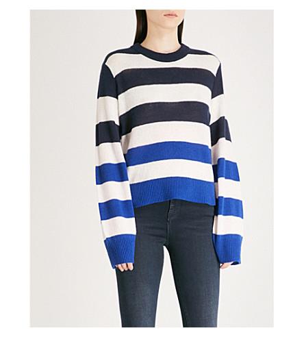 RAG & BONE Annika cashmere jumper (Blue