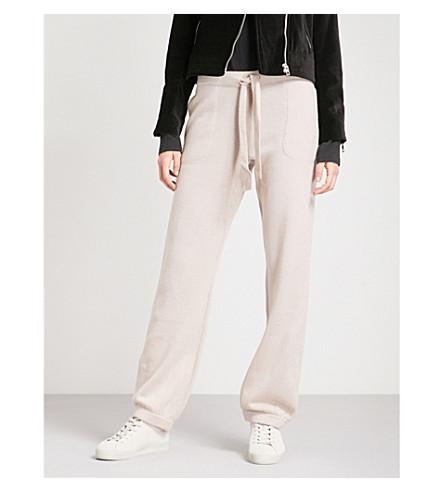RAG & BONE Sutton straight high-rise cashmere trousers (Mink
