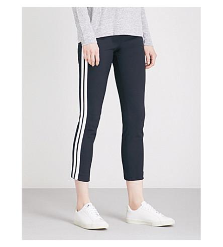 RAG & BONE Simone side-stripe cotton-blend trousers (Navy+stripe