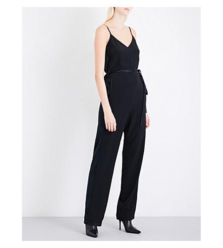 RAG & BONE Rosa self-tie silk jumpsuit (Black