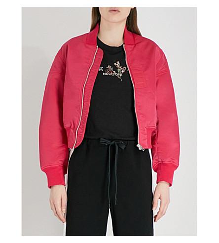 RAG & BONE Wesley shell bomber jacket (Bright+pink