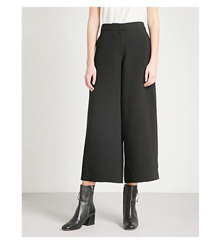 RAG & BONE Marci wide-leg high-rise woven culottes (Black