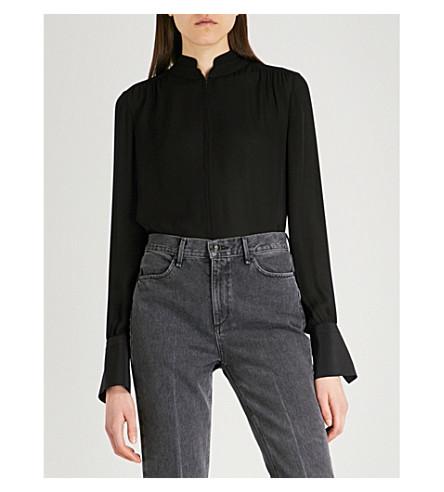 RAG & BONE Jocelyn silk blouse (Black