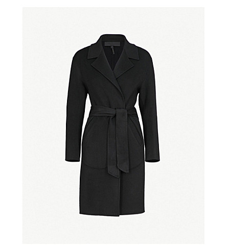 RAG & BONE Sven wool-blend coat (Black