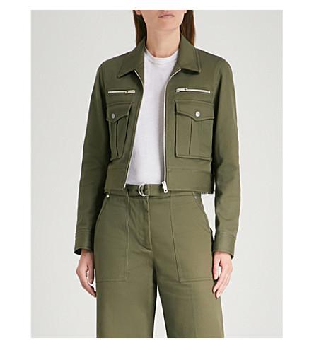 RAG & BONE Pike cotton-twill jacket (Dark+olive