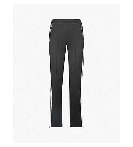 RAG & BONE Milo tapered jersey jogging bottoms (Black