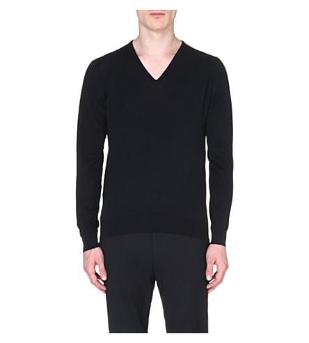 JOHN SMEDLEY Bampton jumper (Black