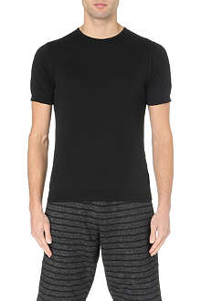 JOHN SMEDLEY Belden Sea Island cotton t-shirt