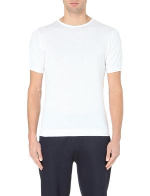 JOHN SMEDLEY Belden cotton t-shirt