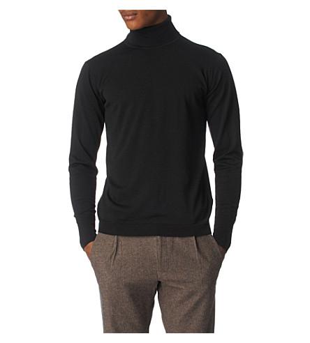 JOHN SMEDLEY Belvoir jumper (Black