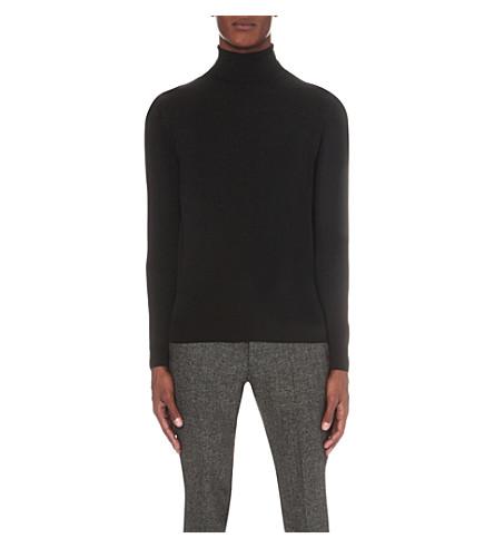 JOHN SMEDLEY Belvoir merino wool jumper (Black