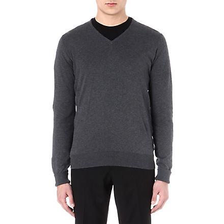 JOHN SMEDLEY Bampton jumper (Charcoal