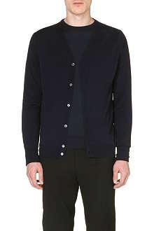 JOHN SMEDLEY Bryn merino wool cardigan