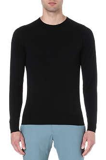 JOHN SMEDLEY Merino wool crew-neck jumper
