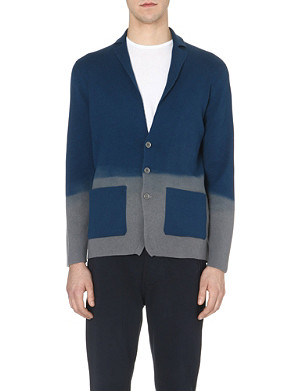 JOHN SMEDLEY Knitted long sleeve jacket