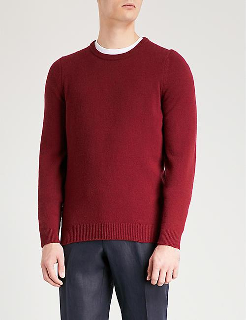 Sweater for Women Jumper On Sale, Bordeaux, Cashemere, 2017, 8 Ballantyne