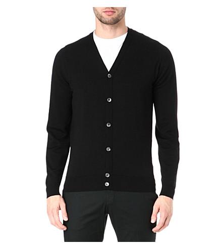 JOHN SMEDLEY Daimler cardigan (Black