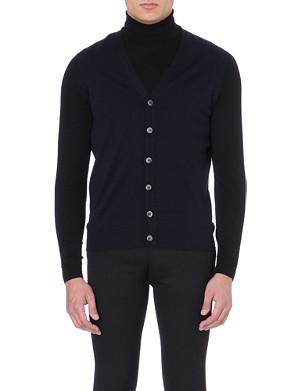JOHN SMEDLEY Merino wool waistcoat