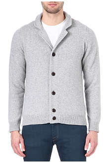 JOHN SMEDLEY Merino wool and cashmere cardigan