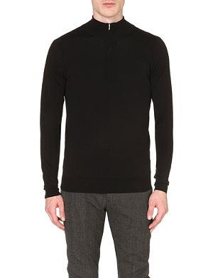 JOHN SMEDLEY Hugh extrafine merino wool jumper