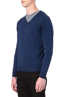 JOHN SMEDLEY Kendal slim-fit wool jumper