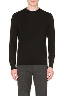 JOHN SMEDLEY Luke Sea Island cotton jumper