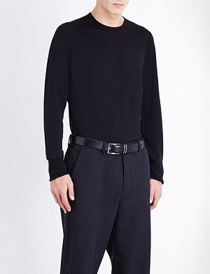 JOHN SMEDLEY Marcus wool jumper