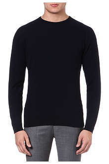 JOHN SMEDLEY Cashmere crew-neck jumper