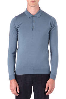 JOHN SMEDLEY Tyburn slim-fit merino wool polo shirt