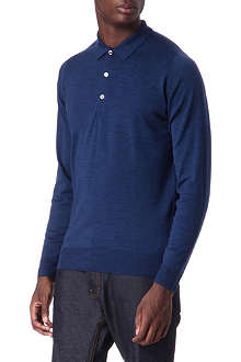 JOHN SMEDLEY Tyburn slim-fit merino-wool polo shirt