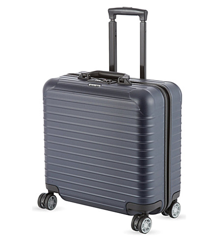 RIMOWA Salsa four-wheel business suitcase 43cm (Matte+blue