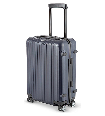 RIMOWA Salsa four-wheel cabin suitcase 55cm (Matte+blue