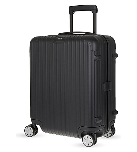 RIMOWA Salsa four-wheel cabin suitcase 56cm (Matte+black
