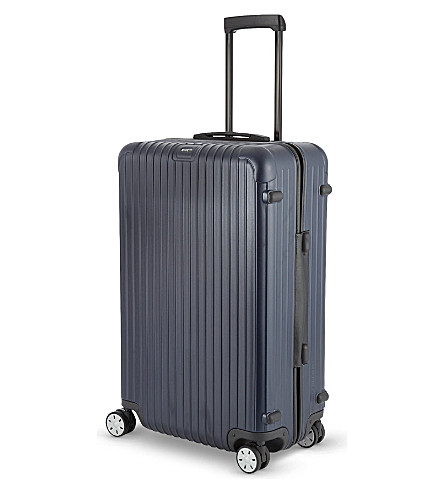 RIMOWA Salsa four-wheel spinner suitcase 74cm (Matte+blue