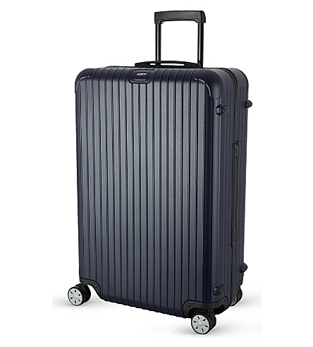 RIMOWA Salsa four-wheel spinner suitcase 77.5cm (Matte+blue