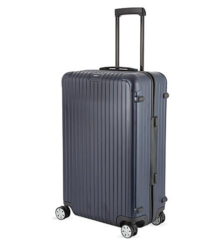 RIMOWA 萨尔萨四轮手提箱 81厘米 (哑光 + 蓝色