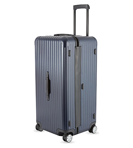 RIMOWA Salsa Sport four-wheel spinner suitcase 80cm (Matte+blue