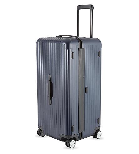 RIMOWA Salsa Sport four-wheel spinner suitcase 80cm (Matte+blue